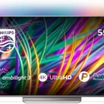 Philips Ambilight 55PUS8303/12 Fernseher 139 cm (55 Zoll) LED Smart TV (4K UHD, P5 Perfect Picture Engine, HDR Premium, DTS Premium Sound, Android TV, Google Assistant) [Energieklasse A]