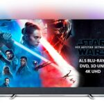 Philips Ambilight 55PUS8804/12 Fernseher 139 cm (55 Zoll) Smart TV (4K UHD, P5 Perfect Picture Engine, HDR 10+, Android TV, Google Assistant) [Energieklasse A]