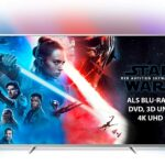 Philips Ambilight 70PUS7304/12 Fernseher 178 cm (70 Zoll) Smart TV (4K, LED TV, HDR 10+, Android TV, Google Assistant, Alexa kompatibel, Dolby Atmos) Hellsilber [Energieklasse A+]